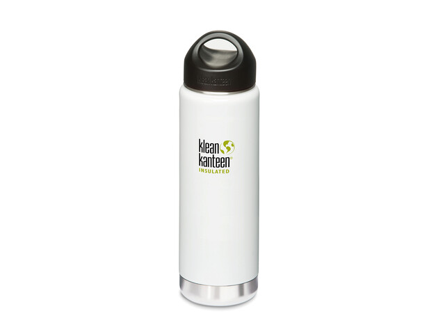 Termo Klean Kanteen Wide Insulated Loop Cap 592 ml blanco